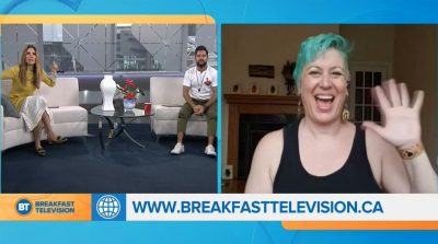 Broadway Workout on Breakfast Television